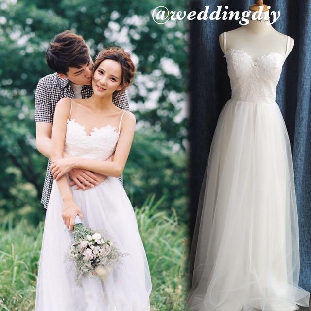 Wedding Diy Alacarte Photshoot Rom Dress Lacey Sexy Piece Suits