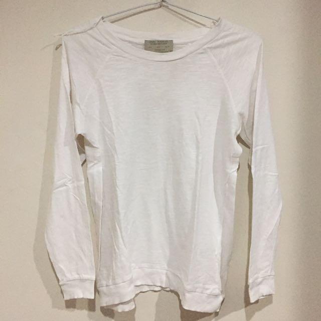 zara sweater (white)