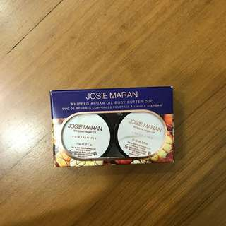 Josie Maran Argan Oil Body Butter Duo / Pumpkin Pie