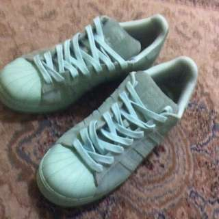 Original And Authentic Adidas Superstar Turqouise Limited Edition