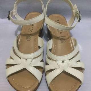Alberto White Sandals