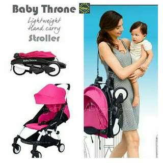 SUPER LIGHT BABY THRONE STROLLER