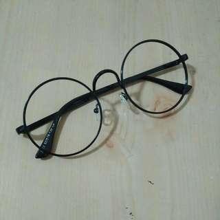 圓框眼鏡(無鏡片)