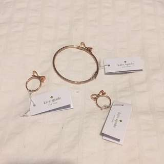 Kate Spade Bracelet And Rings