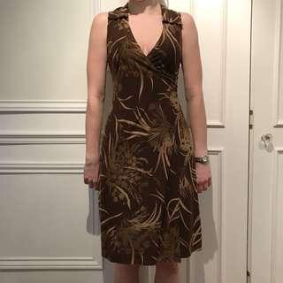 Zio Wrap Dress
