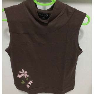 POST NDP SALE! BEST BUY! LOWEST PRICE! Brand New Women Brown Sleeveless Blouse for SALE!