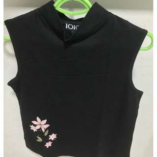 POST NDP SALE! BEST BUY! LOWEST PRICE! Brand New Women Black Sleeveless Blouse for SALE!