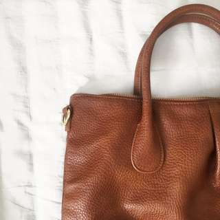 H&M Brown Medium-Sized Shoulder Bag