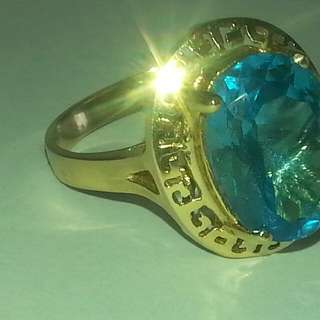 Swiss Topaz Ring