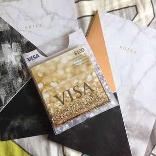 $100 Visa Prepaid Gift Card!