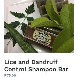Lice and Dandruff Control Shampoo Bar