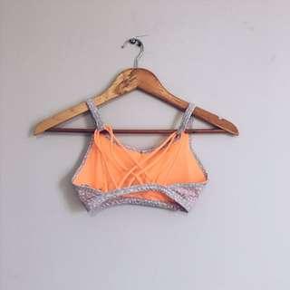 XS cotton on body open back sports bra