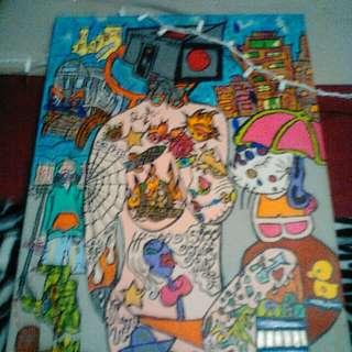 Graffti Style By Famous Artist