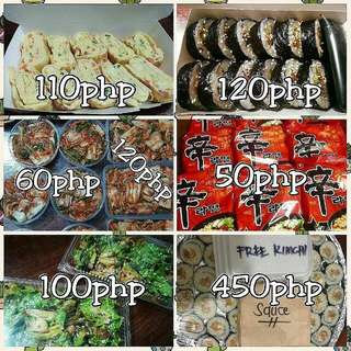 Korean Foods For Sale!!!