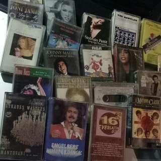 Lot take all Cassette Tapes For 3.5k