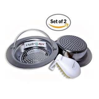 Hydrolift Easy Handle Kitchen Sink Strainer (Set of 2)