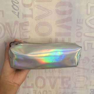 Hologram pencil case (tempat pensil)