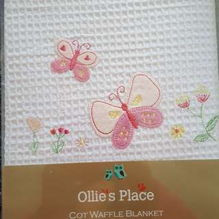 Ollie's Place Cot Blanket