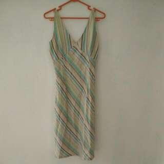 Reprice!!dress garis