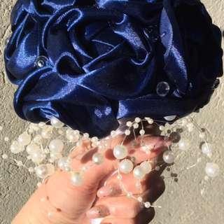 Blue Wedding Bouquet