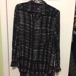 Aritzia Wilfred Free Button Up
