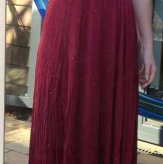 Cotton Infinity Dress