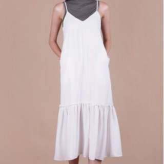 Holly Dip Hem Dress Size S