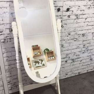 Free Standing French Provincial Mirror