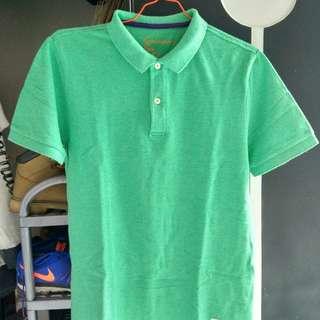 Giordano Polo Shirt - Green - Size M