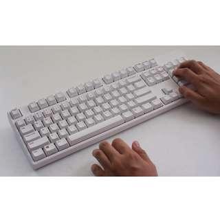 IKBC KD104 PBT Rainbow Legend Keyboard (Cherry MX - Red/Blue/Brown)