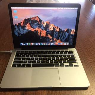 "MacBook Pro 13"" Retina, Late 2013 (mid tier model)  DISCLAIMER* Requires Battery Replacement"