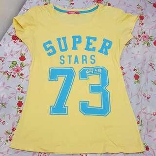 Ninety Degrees T-Shirt Super Stars