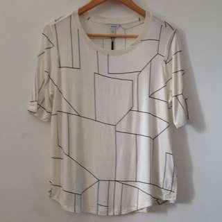Calvin Klein Short Sleeve Print