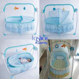 REPRICE DISKON Electric Baby Box Swing