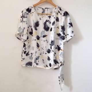 Calvin Klein Printed Top