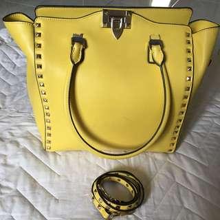PRELOVED Valentino Garavani Stud Bag