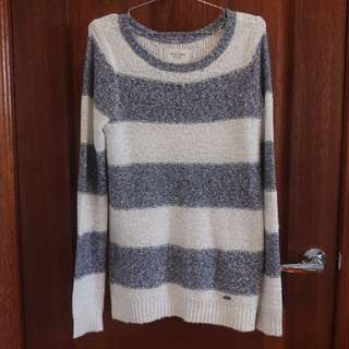 Abercrombie & Fitch Striped Long Line Sweater