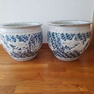 1 Pair Of Porcelain Vase