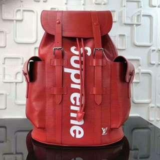 LV (Louis Vuitton) SUPREME BAGPACK for Men!!! Authentic! 💯