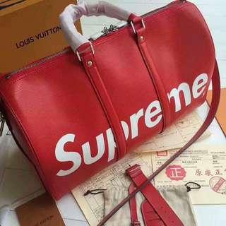 LV (Louis Vuitton) SUPREME TRAVEL BAG for Men! Authentic! 💯