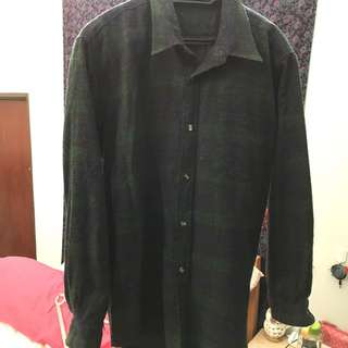 Checkered Bf Shirt