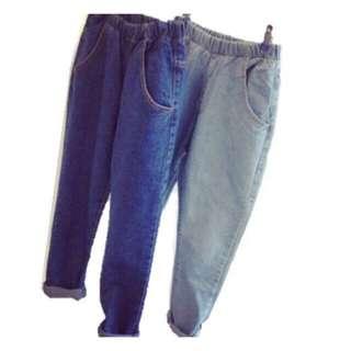 Soft Jeans Long Pants