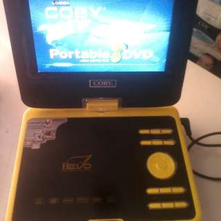 Coby Portable DVD