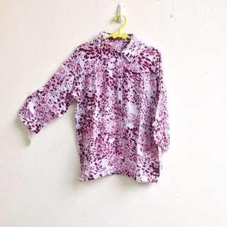 Cotton Flowery Top