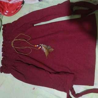 Baju Sabrina Fit Body, Full Karet Dan Bagian Bahu Karet Kencang Ga Takut Akan Naik Atau Turun.