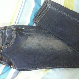 Lee pipes pants