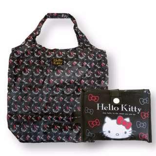 ☆現貨☆ Hello Kitty KT 日本 攜帶式 折疊收納 環保收納購物提袋 購物袋