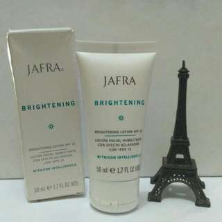 Jafra Brightening Lotion Spf 15 Original. (Reprice)