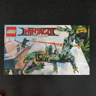 LEGO The Ninjago Movie: Green Ninja Much Dragon (70612)