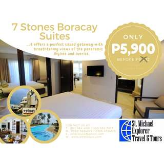 Up to 70% Hotel Discounts: 7 Stones Boracay Suites